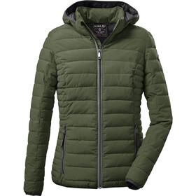 G.I.G.A. DX by killtec Ventoso Quilted Jacket Women deciduous green